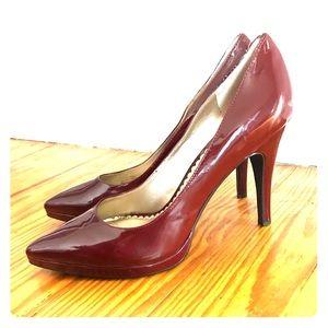 BCBG Dark Red Heels